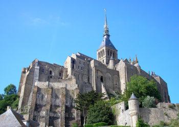 Mont Saint Michel Abbazia-France-Normandie