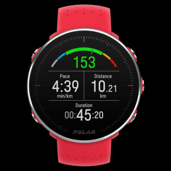 Thindown POLAR-Vantage-M_front_red_running