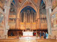 Assisi, interno della Basilica San Francesco (foto: C. Guerriero © Mondointasca.it)