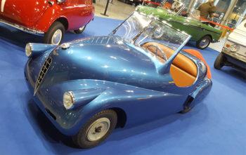 Autoclassica 2018 una rara Volpe del 1947 (foto: P. Gamba © Mondointasca.it)