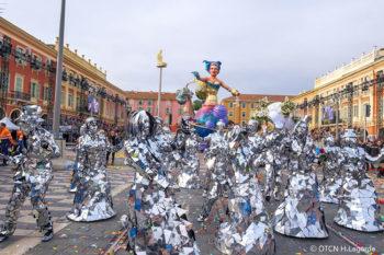 Costa azzurra Carnevale-di-nizza
