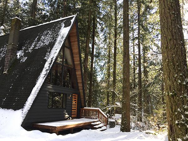 Destinazione insolita Capanna Triangolo_Oregon_USA