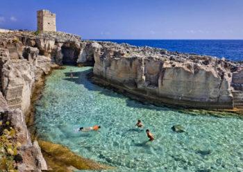 piscine naturali Marina-Serra-Tricase