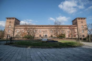 Pavia rossa Castello-visconteo