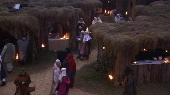 Presepe vivente San Biagio popolo in cammino