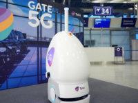 Robot 5G Telia (foto-Finavia Pasi Salminen)