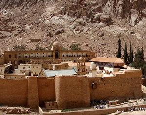 Panorama sul monastero di Santa Caterina d'Alessandria (autore: Egghead06)