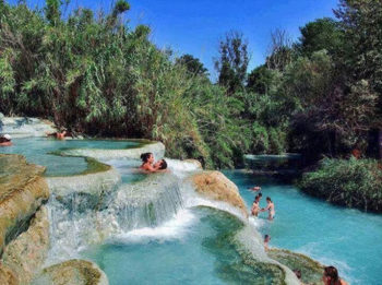 piscine naturali Terme-di-Saturnia