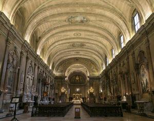 Interno della Chiesa di Sant'Eufemia