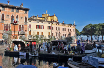 natività Presepe-galleggiantge-Desenzano