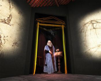 da Vinci Anchiano, Casa di Leonardo, ologramma ©museoleonardiano