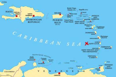 Barbados mappa-antille-caraibi