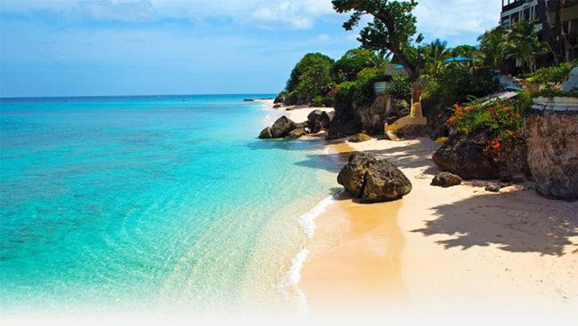Isola di Barbados, spiaggia