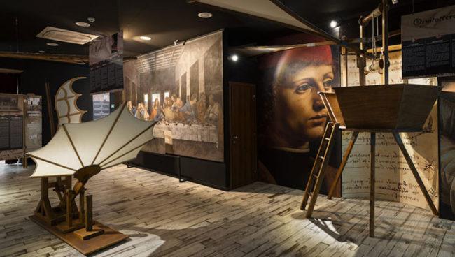 Roma, Leonardo da Vinci Experience ©Alex Attard