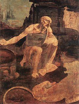 Leonardo da Vinci San Girolamo penitente