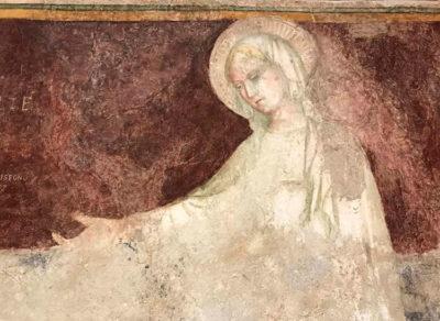 Loreto Madonna dell'umiltà, Salimbeni