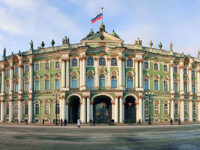 San Pietroburgo, il Palazzo d'Inverno sede del Museo Hermitage
