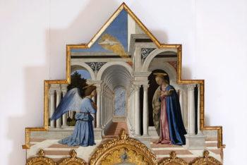 Piero della Francesca Annunciazione della Vergine Maria Perugi, Galleria Nazionale dell'Umbria