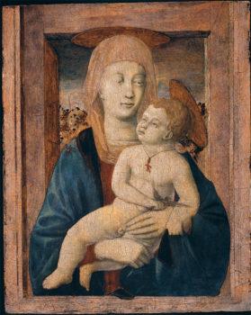 Piero della Francesca Madonna con Bambino Coll-privata