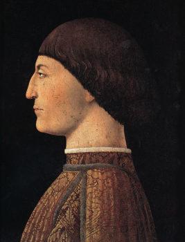 Piero della Francesca_ Ritratto di Sigismondo Malatesta Parigi,-Louvre