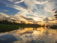 Atardecer en la Reserva Nacional Pacaya Samiria ©PromPerù