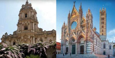 Travel Book Cattedrale-di-Modica-(RG)-e-il-Duomo-di-Siena