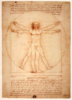 Leonardi da Vinci Venezia Uomo vitruviano