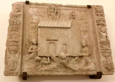 Loreto bassorilievo-trasposizione-casa-di-maria