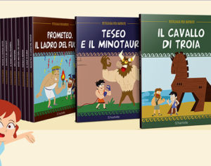 La mitologia per bambini tra immaginazione e fantasia