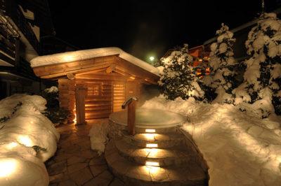 Benessere e coccole sauna-esterna-Tyrol-Hotel