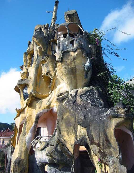 hotel stravaganti HangNga CrazyHouse-foto Kelisi