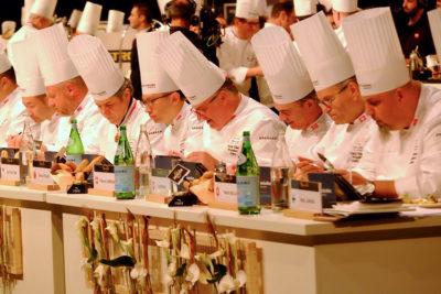 Lione Finale Bocuse d'Or 2019 la giuria al lavoro-Photo-Dario-Bragaglia