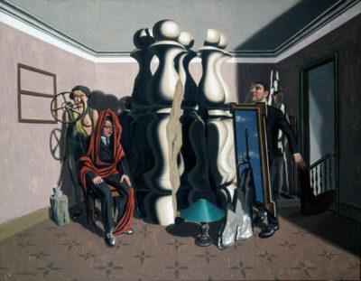Surrealismo Svizzera W-Schaad-Metamorphose-im-Raum_1930