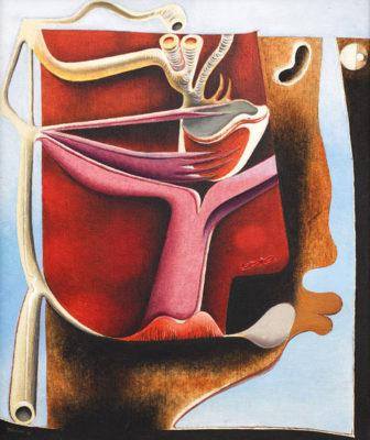 Surrealismo Svizzera O-Tschumi_Physiognomische-Landschaft_1938