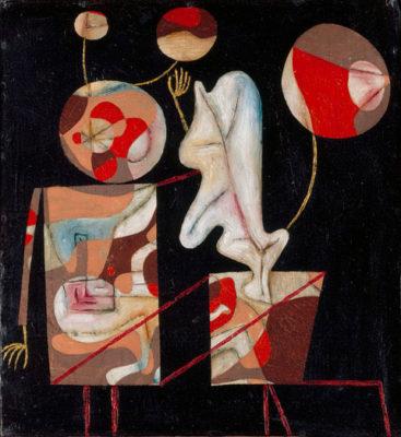 Surrealismo Svizzera P.-Klee-Marionetten-bunt-auf-schwarz_1930