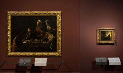 Pinacoteca di Brera Ottavo Dialogo Attorno alla Cena in Emmaus