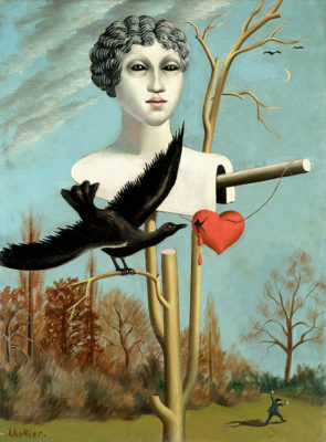 Surrealismo-Svizzera-Jean_Viollier-L'épouvantail-charmeur-III