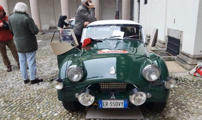 Rallye Monte-Carlo Historique 2019. La triumph TR2 (Photo: P. Gamba © Mondointasca.it)