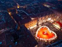 A Verona in Love ci si bacia appassionatamente in mongolfiera