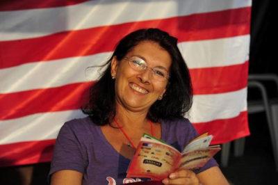 Visit USA Italy Olga Mazzoni