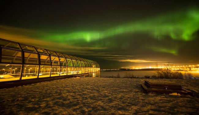Aurora boreale a  Rovaniemi (foto: Visit Rovaniemi)