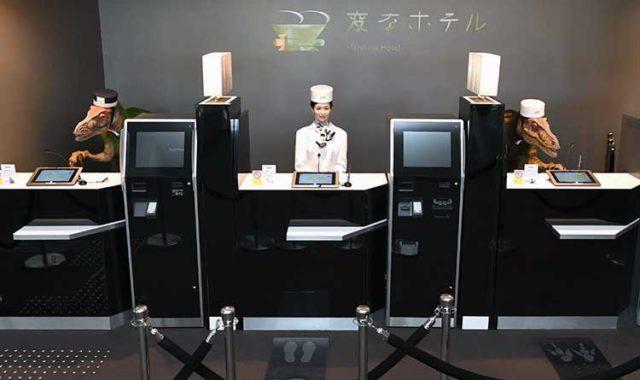 hotel stravaganti robot-hotel-Nagasaki