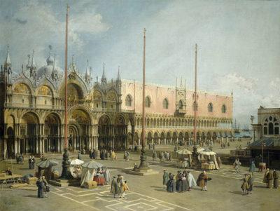 Canaletto e Venezia Piazza-San-Marco