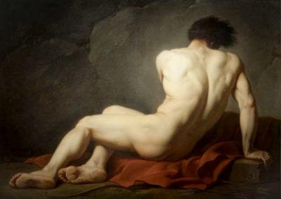 Ingres nudo maschile