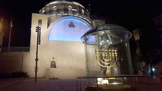 La Sinagoga sefardita a Gerusalemme