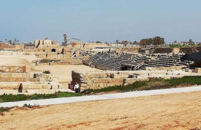Cesarea, Anfiteatro