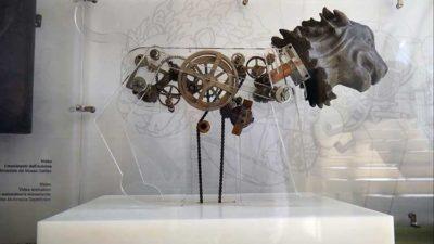 Leonardo da Vinci: Visions Studio preparatorio per il modello del leone meccanico