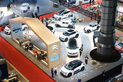 Citroën lo-stand-dall'alto