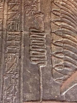 Antico Egitto Cobra-portafortuna (ph. Federica Gögele © Mondointasca.it)