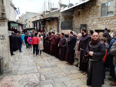 Giaffa La-Via-Dolorosa Processione_ Gerusalemme